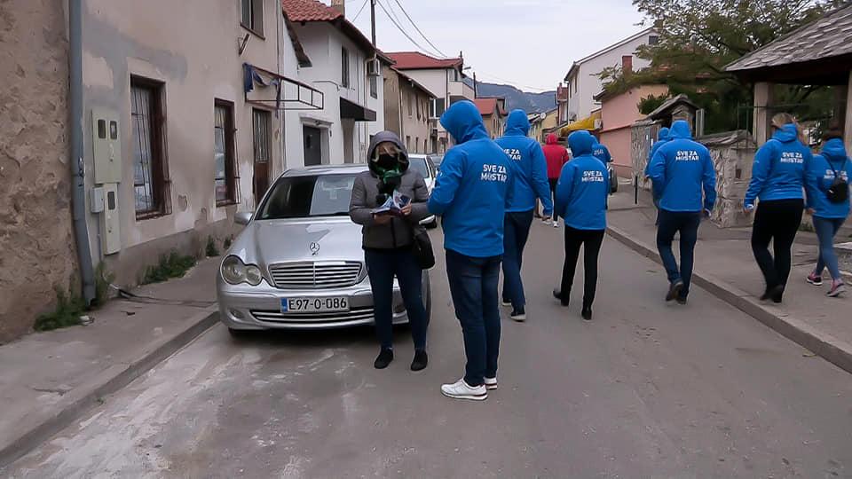 Koalicija za Mostar razgovor s građanima